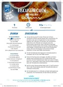 Salmon recipe card (German)