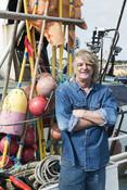 Alan Dwan, hake fisherman, Cornwall