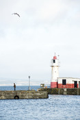 Newyln Pier and lighthouse