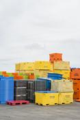 Crates in Cornish fishery