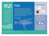 Truite Poissons espèces aquaculture - Trout Fish species aquaculture