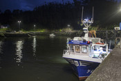 Asturian octopus fishing boat