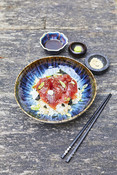 Tuna Bowl with marinated Tuna - Tuna Recipe -Recipe Picture