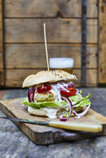 Tuna Burger - Tuna Recipe -Recipe Picture