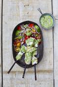 Grilled Tuna Skewers - Tuna Recipe - Recipe Picture