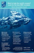 Want to help the worlds oceans look for the ecolabel poster