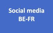 Social media BE-FR