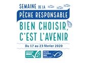 LOGO - SLOGAN & DATES - Semaine de la Pêche Responsable 2020