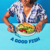 INSTAGRAM GIF: Salmon dinner - portrait
