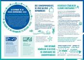Infographie de présentation de la Semaine de la Pêche Responsable 2020