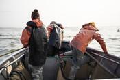 Fishermen on salmon boat | Wild Alaska Salmon Fishery Visit, Bristol Bay