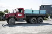Truck with totes of salmon | Wild Alaska Salmon Fishery Visit, Bristol Bay