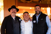 Guests at Sustainable Seafood Happy Hour: Salmon in Seattle