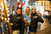 MSC Polish team during winter event for consumers
