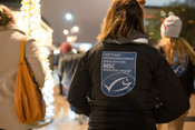 MSC ecolabel on a jacket