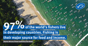 UN Developing countries statistic: #OceanLives
