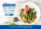Poster Semaine de la Pêche Responsable 2020 avec bandeau jeu concours