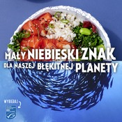 """Social Media - grafiki """"Mały niebieski znak dla naszej błękitnej planety"""""""