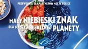 """Kampania MSC """"Mały niebieski znak dla naszej błękitnej planety"""""""