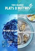 Recette - Huîtres - Un label bleu pour une planète plus bleue