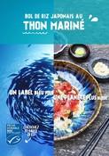 Recette - BOL DE RIZ JAPONAIS AU THON MARINÉ - Un label bleu pour une planète plus bleue