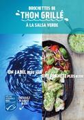Recette - BROCHETTES DE THON GRILLÉ À LA SALSA VERDE - Un label bleu pour une planète plus bleue