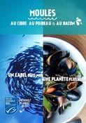 Recette - MOULES AU CIDRE, AU POIREAU ET AU BACON - Un label bleu pour une planète plus bleue