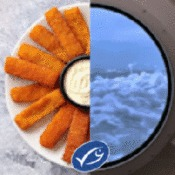 MSC branded Fish Finger GIF