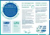 Infographie de présentation - Semaine de la Pêche Responsable 2021