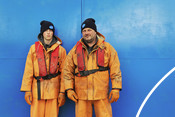 SSW 1. KENNY AND CRAIG POTTINGER, FATHER AND SON, MUSSEL FISHERMEN