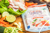 Simply Surimi - TransOcean - Pollock - recipe & product photography