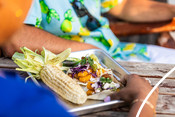 Frozen Fish (Stick) - Fish Tacos - recipe & product photography