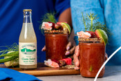 Clam Juice Bar Harbor - recipe & product photography