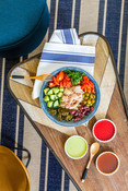 Overhead - Canned Tuna Salad - recipe & product photography