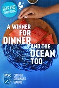 Pinterest ad creative - Good for you and the ocean too campaign 2020