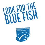 Animated End frame logo_Look for the blue fish