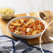 Recipe Tagine of Cod and Chickpeas