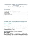 Elements de langage ASC et MSC - Semaine de la Pêche Responsable 2021