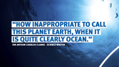 Ocean quote - Arthur Clarke