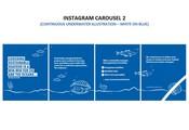 Insta Carousel 2 - Continuous underwater illustration