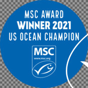 Badges & Stickers for MSC partner US Ocean Champion awards
