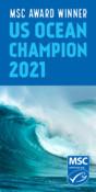 Website display banners for MSC partner US Ocean Champion awards