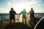 1 Haddock Fishermen on boat