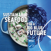 Social Media Post - Cod, Clams, Fish Swirl - National Seafood Month Partner Resources