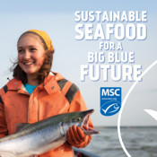 Discovery Ad Graphic (fishermen) - Seafood Month Campaign
