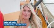 Video of  MSC Ambassador Jadis Schreuder (The Lemon Kitchen) going fishing on brownshrimp and make a recipe on boardganized by MSC Belgium