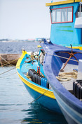 Boats at harbour maldives bike