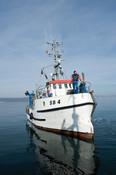 Boat at sea 3