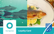 Ocean to Plate Wallet Card