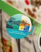 Ocean to Plate shelf talker - Multilingual